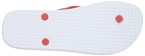 DC Männer Spray Graffik M 3 Point Sandal, EUR: 40.5, White/Black/Athletic Red