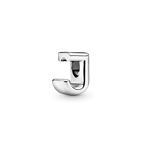 Pandora Jewelry - Letter J Alphabet Charm in Sterling Silver