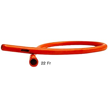 HealthAndYoga(TM) Rubber Colon Tube - Open End 22 Fr