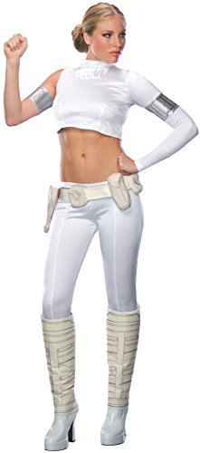 Secret Wishes Women's Star Wars Padme Amidala Adult Costume, Multicolor, Small - Star Wars Padme Blaster