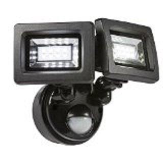 Twin light pir led security light 4000k ip44 8 watt amazon twin light pir led security light 4000k ip44 8 watt aloadofball Choice Image