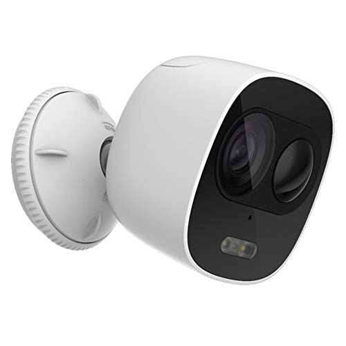Cámara de Seguridad 1080P FHD Mini WiFi Sistema de videovigilancia con 2MP cámaras IP Impermeables Plug and Play Auto Match...