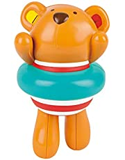 Hape E0204 Swimmer Teddy Wind-Up Bath Toy,One Size,Colorful