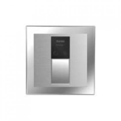 Toto TEU3GN#SS 4-Inch by 4-Inch Concealed Sensor Surface Mount Urinal 1.0-GPF Flush Valve Only, Stainless Steel