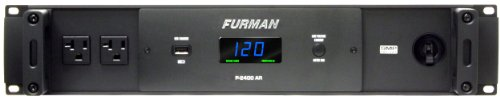 Furman P-2400 AR Power Conditioner True RMS Voltage Regulation Delivers Stable Voltage Output by Furman