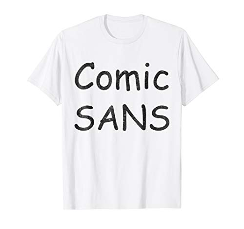 Comic Sans Font Costume Funny Halloween -