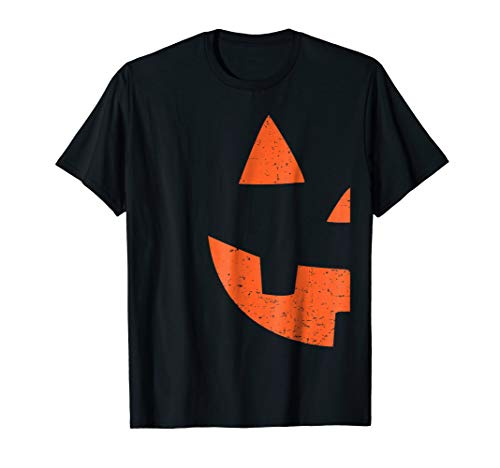 Jack O Lantern Couples Matching Halloween T-Shirt