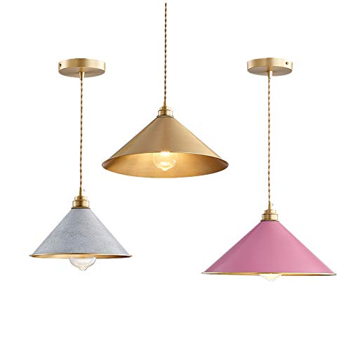 - Windawn Northern Europe Style Concise Style Simple and Modern Restaurant Hotel Bedroom Living Room Office Cafe Bar Bar Counter Corridor Dining-Table Brass Ceiling Lamp