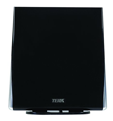 TERK Omni-Directional, Amplified Digital Flat Indoor HDTV Antenna (Terk Hd Antenna Indoor)