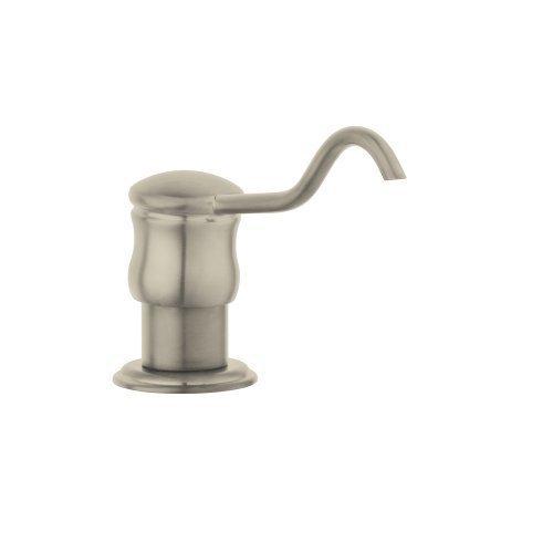 Hansgrohe 06341800 C Soap Dispenser, Steel Optik