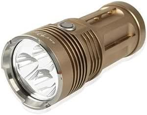 Yadianna High Power Sky RAY King 3 Mode CREE XM-L T6 3 LED Flashlight, Luminous Flux: 2000lm, Length: 135mm LED Lamp Mini Flashlight