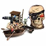 Mega Bloks Pyrates Skull Cave Maroon Gally