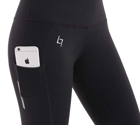 6e73e8803d10c FITTIN PRO Yoga High Waist Leggings with Out Pocket - Flex 4 Way Stretch  Power Pants