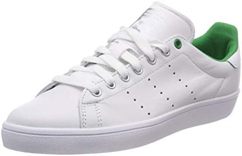 new product 72447 886b8 adidas D68843 Stan Smith Vulc - Zapatillas Deportivas para Mujer, Mujer,  D68843, White Green, Size UK 5.5  Amazon.es  Deportes y aire libre