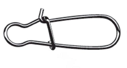 Mustadデュアルロックスナップ4パック、ブラックニッケル、サイズ8   B00DSZ4W8U