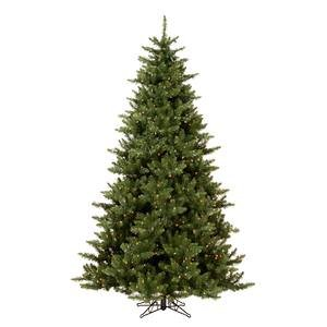 Vickerman Pre-Lit Camdon Fir Tree with 450 Clear Dura-Lit Lights, 5.5-Feet, Green