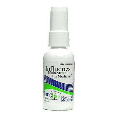 King Bio Homeopathic Multi Strain Influenza   2 Fl Oz