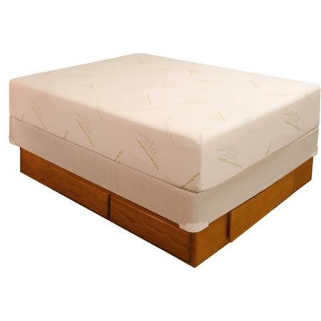 Oak Drawer Pedestal-Platform Bed Queen/King/California (King Pedestal)