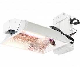 Phantom  208-240V Phantom DE Enclosed Lighting System, White