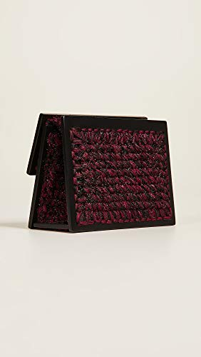 Women's 0711 Brown Burgundy Copacabana Clutch dx4Pq