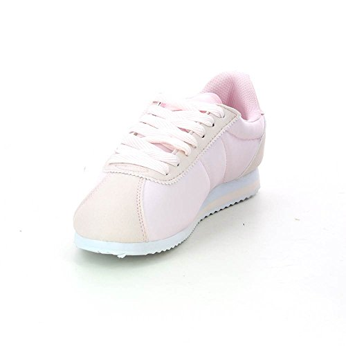 Low sneakers lace ultra-light Pink T7jWxfVb
