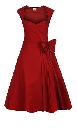 Kleid 50er xxl