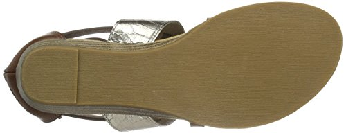Blowfish Badot, Women's Open Toe Sandals Brown - Brown (Whisky/Pewter)