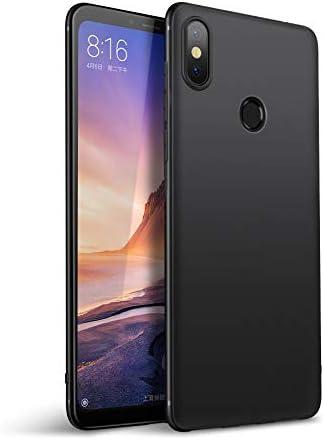 Olliwon Funda Compatible con Xiaomi Mi MAX 3, Slim Silicona TPU Carcasa 360 Cover Case para Xiaomi Mi MAX 3 Nergo