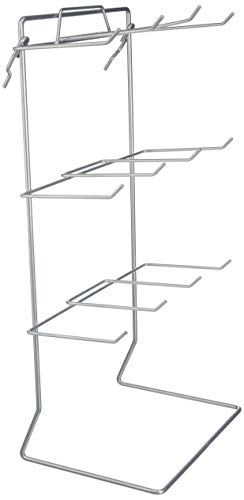(One 12 Single Peg Hook Counter Top Display Rack (Holds 3