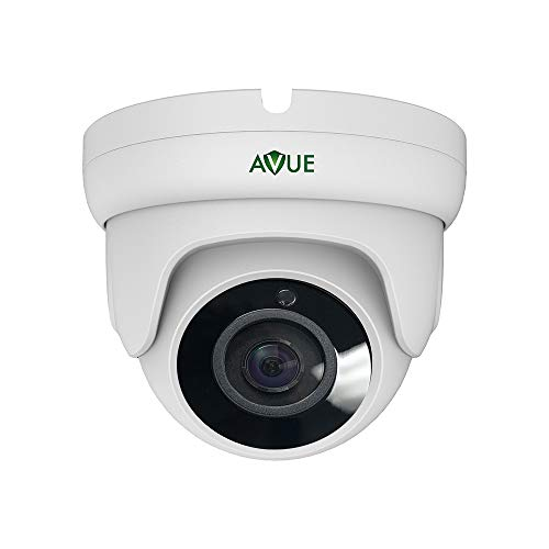 AVUE Full HD 1080P Mini Turret 4in1 HD-TVI/AHD/CVI/CVBS(SD) 2.8mm Wide Angle Lens, Indoor/Outdoor, Multiple Language, DNR, Digital DWR