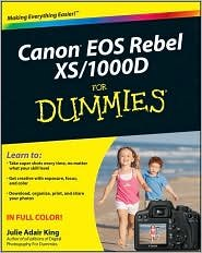 Canon EOS Rebel XS/1000D For Dummies Publisher: For Dummies