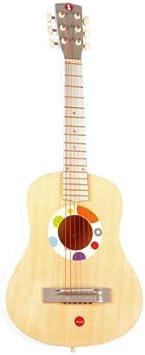 Janod 4507599 - Guitarra de Juguete con púa y Cuerdas ...