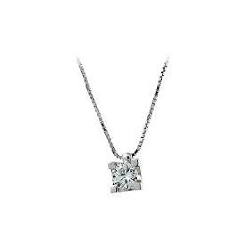 Collier Femme Diamant Lumière Taille Brillant
