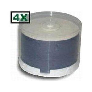100 Princo 4X DVD-R 4.7GB White Top