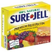 Kraft Gelatin Sure Fruit Pectin Jelly, 1.75 Ounce - 24 per case.
