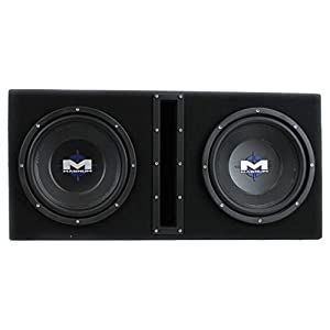 "MTX Magnum MB210SP 10"" 1200W Subwoofer System w/Wiring Kit + Digital Capacitor"