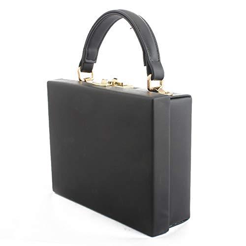 black Main Rangement Bqclou Pu Cuir Bandouliere A Sac De Fille Femme Black qnTHwB