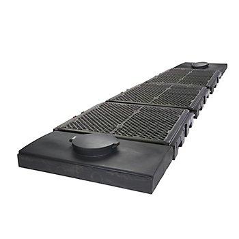 New Pig PAK122 Polyethylene Modular IBC Spill Containment Pallet, 45000 lbs Load Capacity, 313