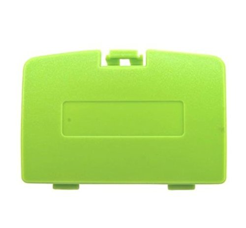 Boy Battery Cover Game Color (Replacement Battery Back Cover Case Door Lid for Gameboy Color GBC (Green)