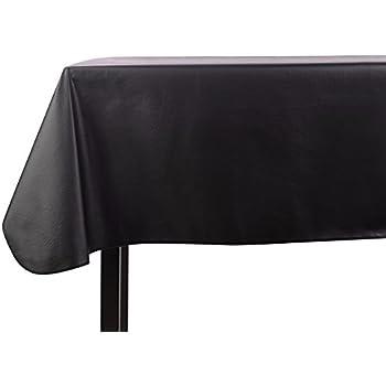 Yourtablecloth Heavy Duty Vinyl Rectangle Or Square Tablecloth U2013 6 Gauge  Heavy Duty Tablecloth U2013 Flannel