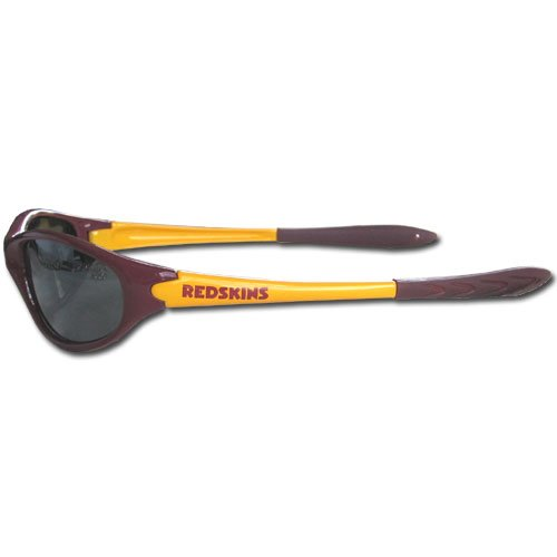 Redskins Washington Sunglasses (NFL Washington Redskins Sleek Wrap Sunglasses)