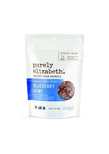 purely elizabeth Ancient Grain Granola Cereal Blueberry Hemp, 12 - Low Fat Granola Cereal