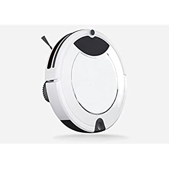 Anti-Fall Ultra Quiet Floor Sweeper Robotic Vacuum Cleaner Vacuum Cleaning Robot(Sweep, Mop, Vacuum, Sterilization) Schedule Cleaning for Floor, Tile and Carpet