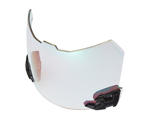 SHOC Visor 2.0 Lightning Clear Rainbow for Football Helmets (Rainbow Visor)