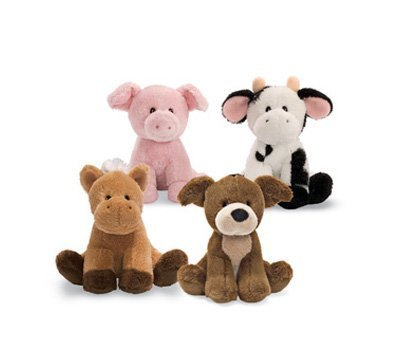 GUND Animal Chatter Farm Animals