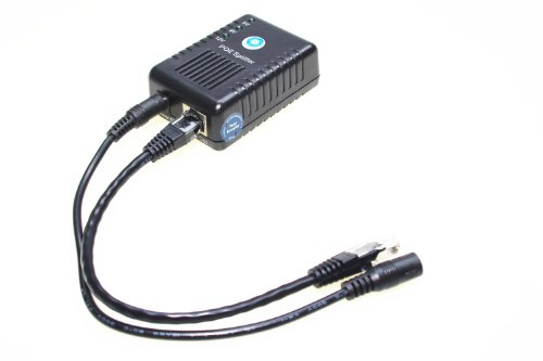 SMAKN® Active PoE Splitter Adapter, IEEE 802.3af compliant, Up To 100 meters, 5V / 12V Output