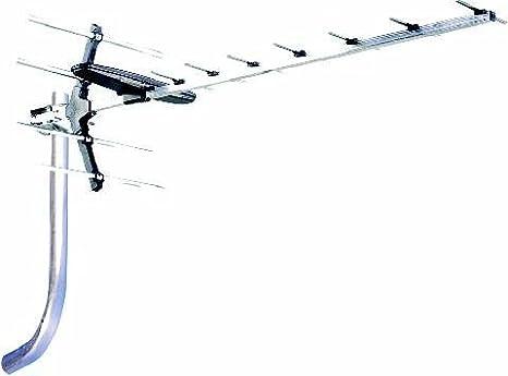 ANTIFERENCE Antena de TV RX12 de banda ancha mediana de ganancia