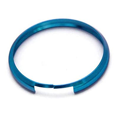 iJDMTOY Aqua Teal Finish Smart Key Fob Replacement Ring Compatible With 08-up Mini Cooper JCW R55 R56 R57 R58 R59 R60: Automotive