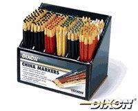 Art Supplies 80 Dixon China Marker - Blue44; Dozen