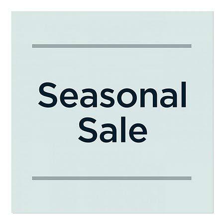CGSignLab 16x16 5-Pack Seasonal Sale Victorian Card Window Cling